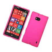 Insten Hard Rubber Cover Case For Nokia Lumia 929 - Hot Pink