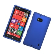 Insten Hard Rubberized Case For Nokia Lumia 929 - Blue