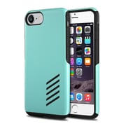 iPhone 7 Case, by Insten Black Soft Skin + Mint Green Hard Shockproof Anti-Scrathes Hybrid Case for Apple iPhone 7
