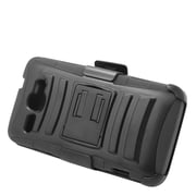 Insten Stand Dual Layer Hybrid Case with Holster For Alcatel One Touch Sonic - Black