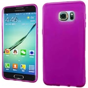 Insten Frosted Gel Case For Samsung Galaxy S6 Edge Plus - Hot Pink