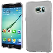 Insten Frosted Rubber Case For Samsung Galaxy S6 Edge Plus - Clear