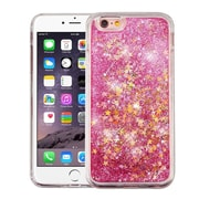 Insten Quicksand Glitter Hybrid Hard PC/TPU Case Cover For Apple iPhone 6s Plus / 6 Plus - Stars Pink