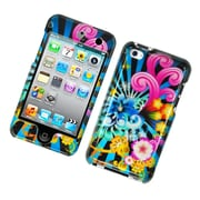 Insten Fireworks Hard Case For Apple iPod Touch 4th Gen - Blue/Colorful