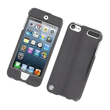 Insten Carbon Fiber Hard Case For Apple iPod Touch 5th Gen - Dark Gray