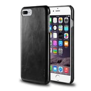 iPhone 7 Plus Case, by Insten Rear Clip-on Leather Slim Hard Case Protective Cover for Apple iPhone 7 Plus - Black