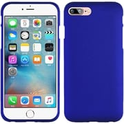 Insten Hard Rubber Cover Case For Apple iPhone 7 - Blue