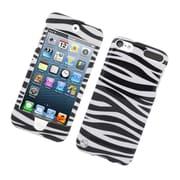 Insten Zebra Hard Case For Apple iPod Touch 5th Gen - Black/White