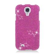 Insten Hard 3D Diamond Case For Samsung Galaxy S4 - Hot Pink