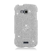 Insten Hard 3D Bling Case For Samsung ATIV Odyssey - Silver