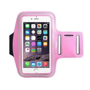 """Insten Running Jogging Workout Gym Armband Sportband Pouch Holder Case (5.67"""" x 3.14"""") for iPhone 7 Universal - Pink"""