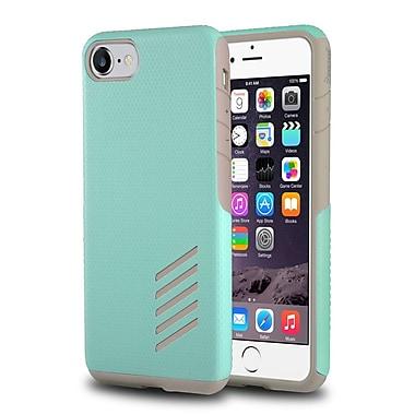 Insten® Light Grey Skin/Mint Green Hard Shockproof Anti-Scrathes Hybrid Case for Apple iPhone 7(2277912)