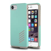 iPhone 7 Case, by Insten Light Gray Skin/Mint Green Hard Shockproof Anti-Scrathes Hybrid Case for Apple iPhone 7