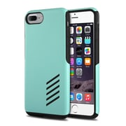 iPhone 7 Plus Case, by Insten Black Soft Skin + Mint Green Hard Shockproof Hybrid Case for Apple iPhone 7 Plus