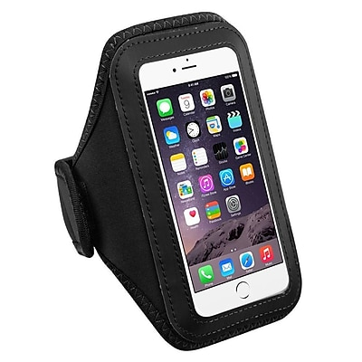 Insten Black Sports Running Jogging Gym Exercise Armband Case for iPhone 7 Plus 6S 6 / Galaxy Note 7 5 S7 Edge J7 24101743