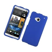 Insten Hard Rubber Case For HTC One M7 - Blue