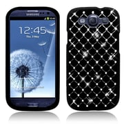 Insten Hard Case with Diamond For Samsung Galaxy S3 - Black