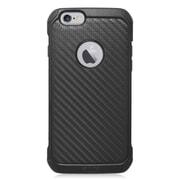 Insten Carbon Fiber Hard Dual Layer Hybrid Case For Apple iPhone 6/6s - Black