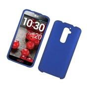 Insten Hard Rubber Coated Case For LG G2 D800 ATT - Blue
