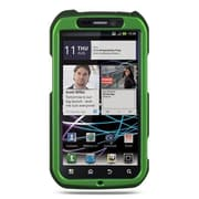Insten Hard Crystal Rubber Skin Protective Shell Case For Motorola Photon 4G - Green