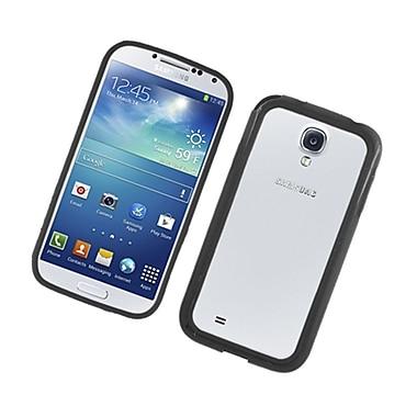 Insten Rubber Bumper Case For Samsung Galaxy S4 - Black