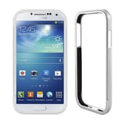 Insten Aluminum Metallic Bumper Case For Samsung Galaxy S4 - Silver