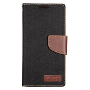 Insten Leather Wallet Case with Card slot & Photo Display For Samsung Galaxy S7 Edge - Black/Brown