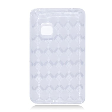 Insten Checker TPU Case For LG 840G - Clear