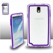 Insten Purple BP1 Bumper Case Cover For Samsung Galaxy Note 3 N9000