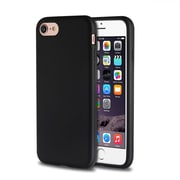 iPhone 7 Case, by Insten Rubber Silicone Skin Gel Case Cover For Apple iPhone 7 4.7 inch - Black
