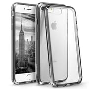 iPhone 7 Plus Case, by BasAcc Clear Crystal Hard Case Cover with Black TPU Bumper For Apple iPhone 7 Plus