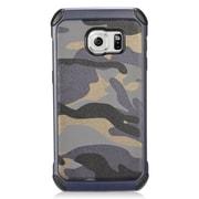 Insten Camouflage Hard Dual Layer Hybrid Case For Samsung Galaxy S7 - Gray/Black