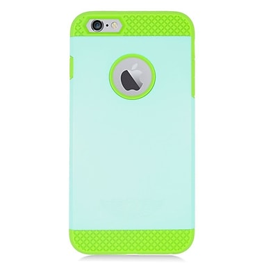 Insten Hard Dual Layer Silicone Case For Apple iPhone 6/6s - Green/Mint