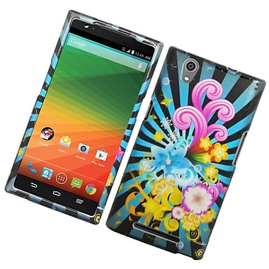 Insten Fireworks Hard Rubber Case For ZTE ZMax - Colorful