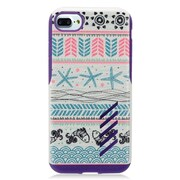 """Insten Jumping Fishes Hard Hybrid TPU Case For Apple iPhone 7 (4.7"""") - Blue/Pink"""