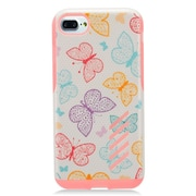 "Insten Butterfly Hard Hybrid TPU Cover Case For Apple iPhone 7 (4.7"") - Pink"
