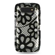 Insten Hard Cover Case For BlackBerry Torch 9850/9860 - Black/White