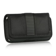 Insten Horizontal Magnetic Flip Leather Case Cover with Belt clip For iPhone 4 4S iPod Touch 4 4th Gen - Black