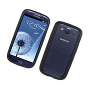 Insten Gel Bumper Case For Samsung Galaxy S3 - Black