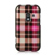 Insten Checker Design Hard Crystal Skin Back Cover Case For Samsung Galaxy Attain 4G - Pink