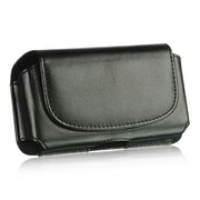 Insten Infuse Horizontal Pouch Leather Belt Clip Case Cover For Samsung Infuse 4G - Black