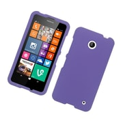 Insten Hard Rubber Coated Cover Case For Nokia Lumia 630/635 - Purple