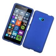 Insten Hard Rubber Cover Case For Microsoft Lumia 640 - Blue