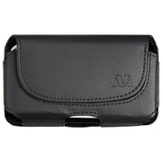 Insten Black Horizontal Leather Pouch (304)(NO Package) For Apple iPhone 5 5S 5C