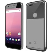Insten Gel Case For Google Pixel - Clear/Black