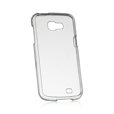 Insten Crystal Skin TPU Rubber Gel Case Cover For Samsung Galaxy Premier - Clear