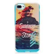 """Insten Summer Story Hard Hybrid Dual Layer TPU Case For Apple iPhone 7 (4.7"""") - Colorful"""