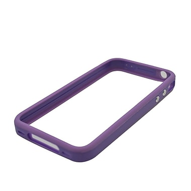 Insten Gel Bumper Case For Apple iPhone 4 4S - Purple