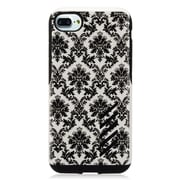 """Insten Lace Flower Hard Hybrid Dual Layer TPU Cover Case For Apple iPhone 7 (4.7"""") - Black/White"""