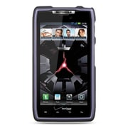 Insten Hard Crystal Rubber Skin Protective Shell Case For Motorola Droid Razr XT912 - Purple